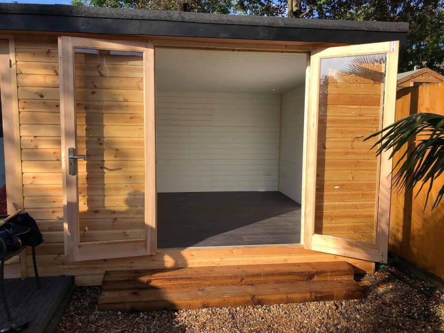 Log Cabin Doors