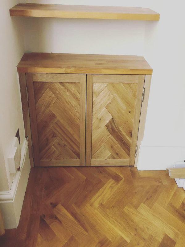 Bespoke Solid Oak frame