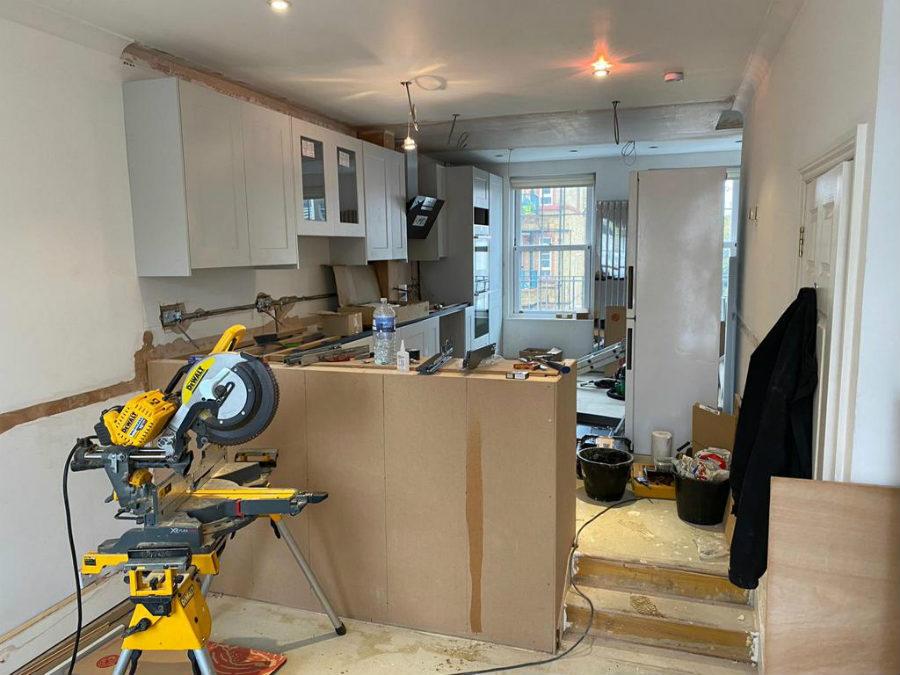 Kitchen Construction In Eltham